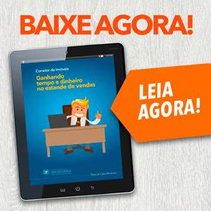 E-book Ganhando Tempo e Dinheiro no Estande de Vendas